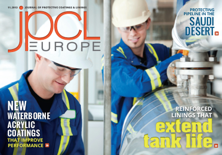 Read the November 2013 Digital Issue of JPCL Europe