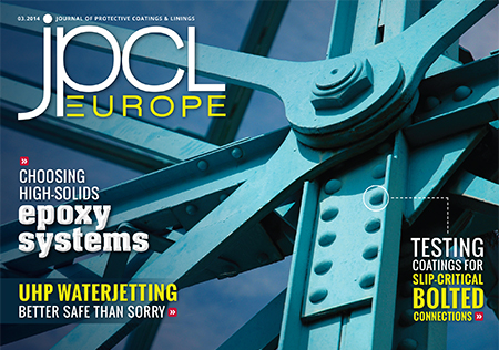 Read the March 2014 Digital Issue of JPCL Europe