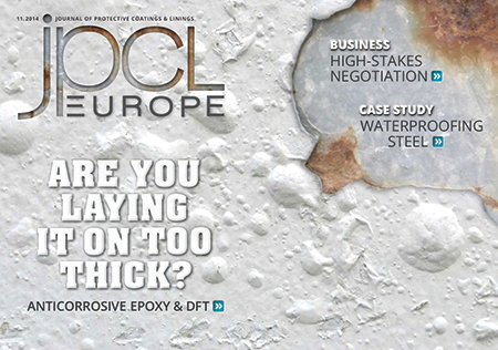 Read the November 2014 Digital Issue of JPCL Europe