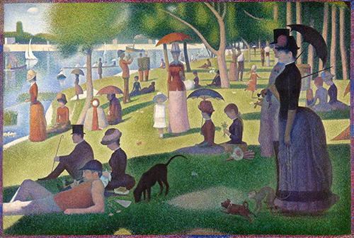 A Sunday on La Grande Jatte, Georges Seurat