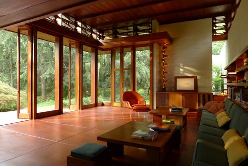 Bachman Wilson House interior