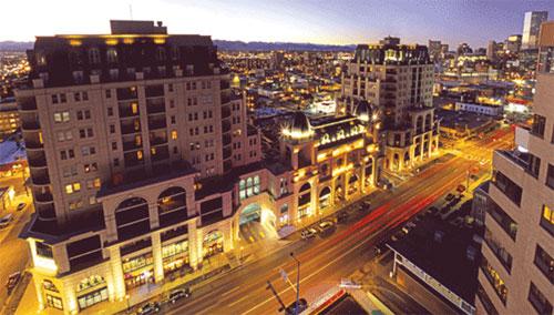 The Beauvallon Condominums in Denver.