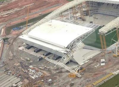 Arena Corinthians in Sao Paulo.