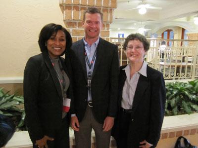 Tim Leonard, Debra Gill and Dr. Susan Pfiffner
