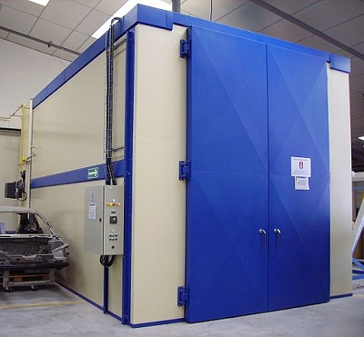 Industrial coating oven