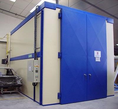 Industrial coating oven