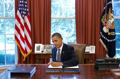 President Obama signs Budget Control Act of 2011