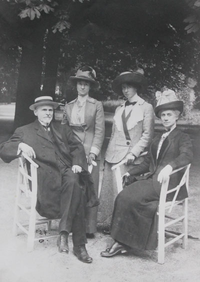 Dr. J.H. McClelland & Family