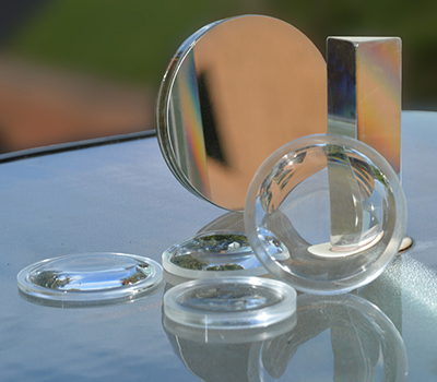 telescope mirror and lenses