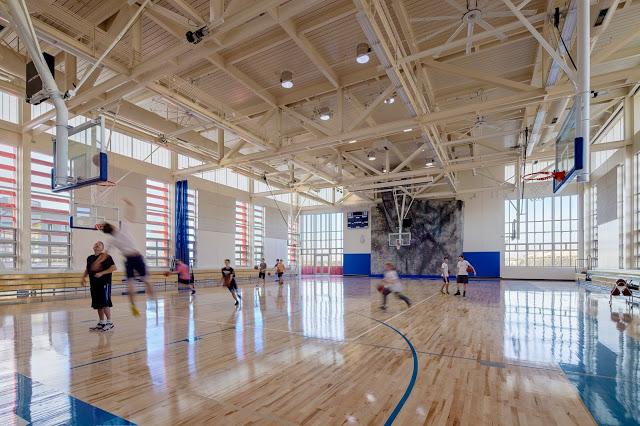 Nueva School gymnasium