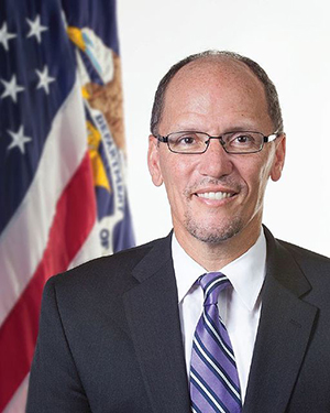 Sec of Labor Thomas Perez