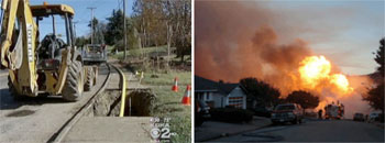 kdka.com (left); San Bruno Fire Department (right)