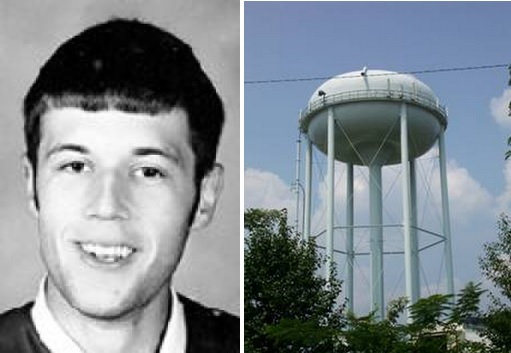 Lee Murray and water tower