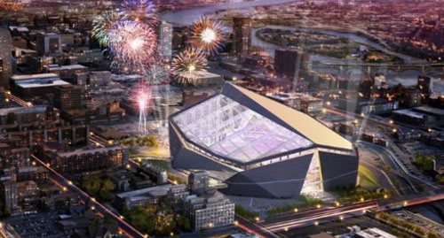 HKS Design for Vikings Stadium