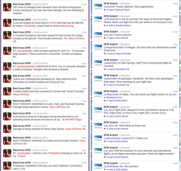 tornado Twitter feeds