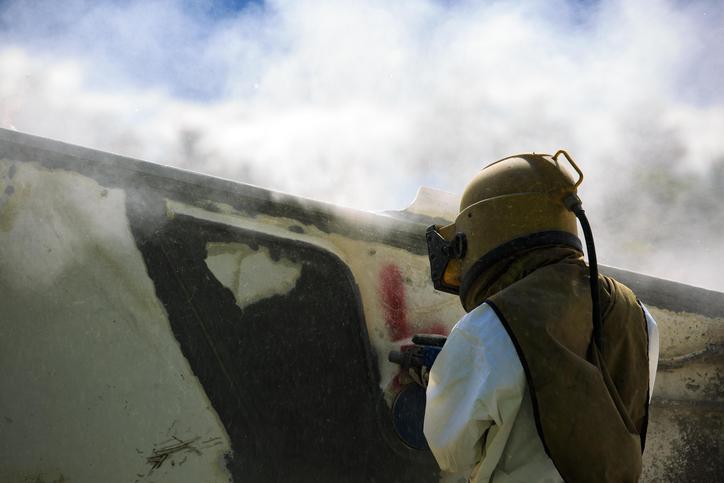 Abrasive blasting