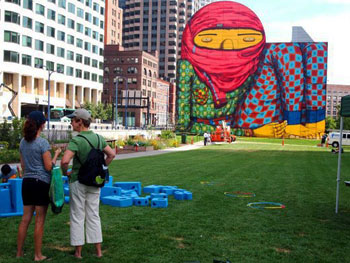 Boston Greenway mural