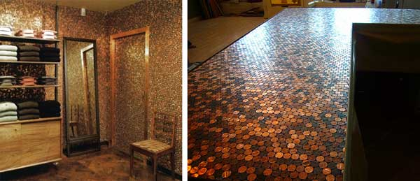 Mel Angst penny floor