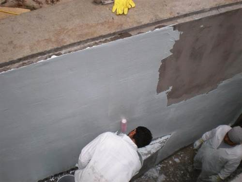 Wastewater coating