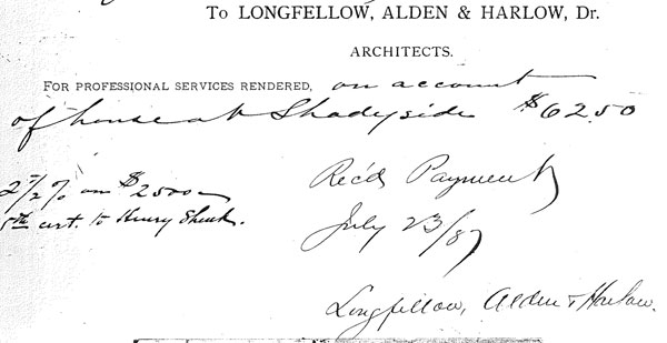 Longfellow, Alden & Harlow Sunnyledge statement