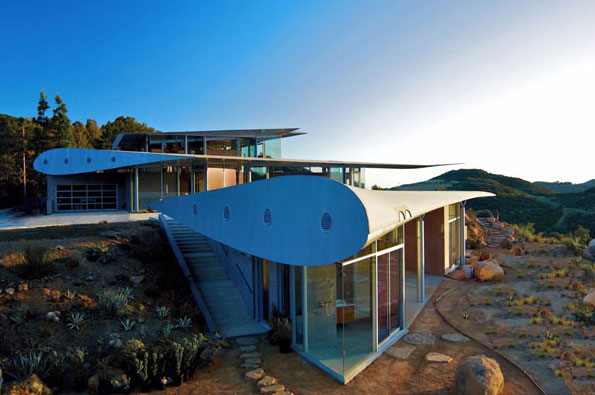 Wing House in Malibu