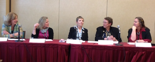 Women in Coatings panel