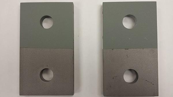 tension creep testing test plates