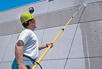 Treating Exterior Concrete Walls with Coatings