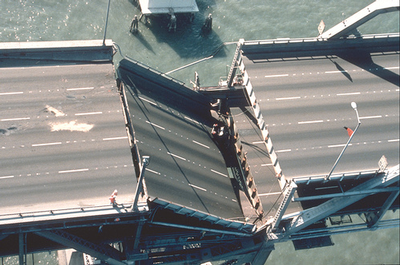 Loma Prieta Bay Bridge collapse