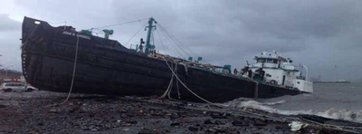 Tanker sinking