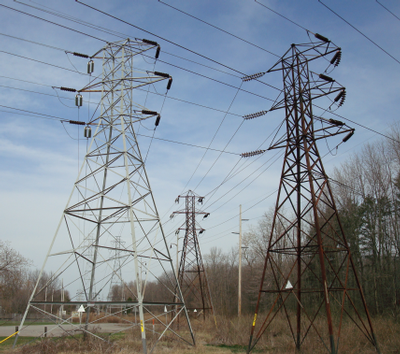 Transmission Tower lines