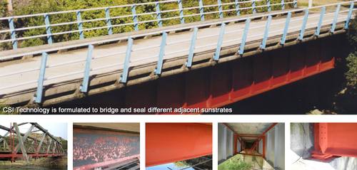 Goldseal Group CSI Technology on bridge