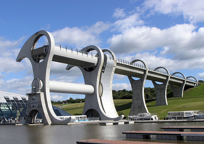 Falkirk Wheel - Scotland