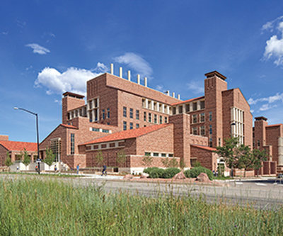 Biotechnology building at the University of Colorado