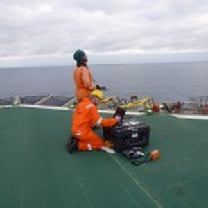 Cyberhawk offshore flare inspection