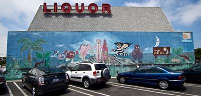 Mural before