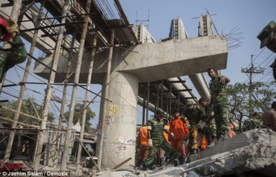 Chittagong overpass collapse