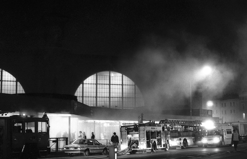 King's Cross Fire - London, 1987