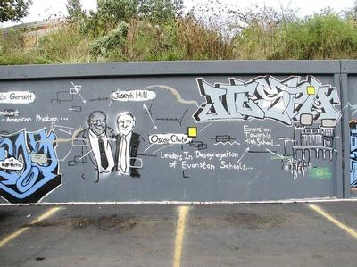 Evanston mural