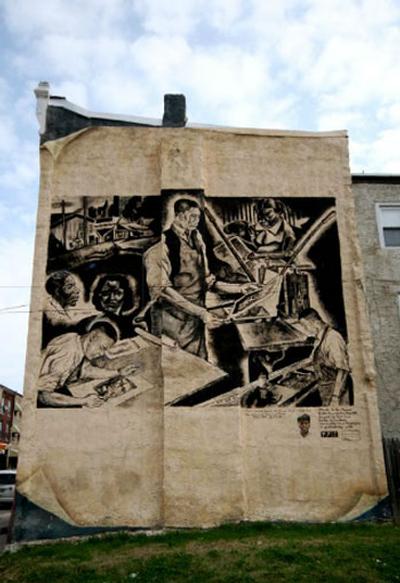 Dox Thrash tribute mural
