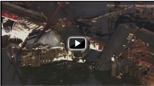 Paulsboro train derailment - 11.30.12