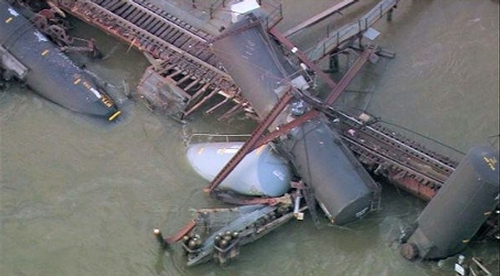 Train derailment in Paulsboro, NJ