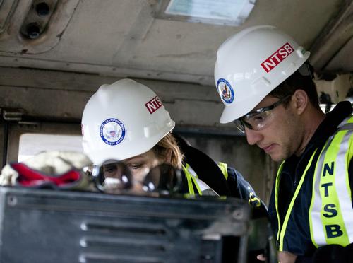 NTSB investigation - NJ derailment