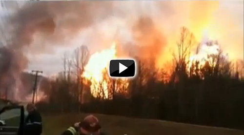 Video of Sissonville, WV, explosion
