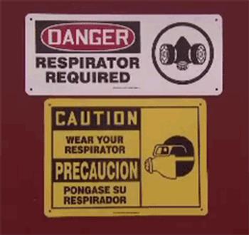 OSHA Respirator Signs