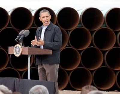 President Obama - Cushing, OK