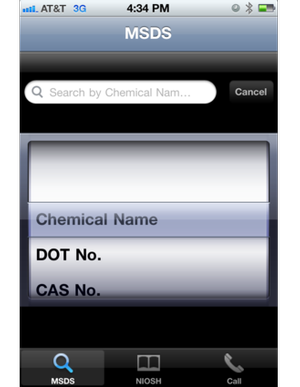 USW Chemical Safety App
