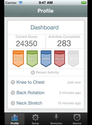 Ergonomic iOS App