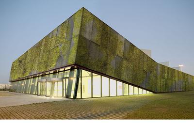 biological concrete building