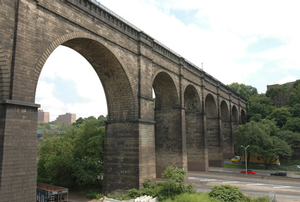 High Bridge masonry